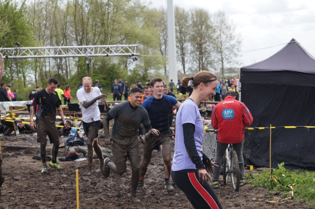 Na de eerste Mud Crawl liep ik vrolijk verder.