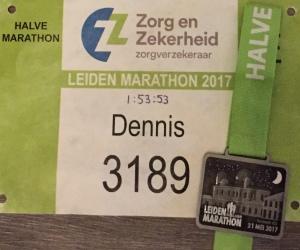 In 2017 liep ik mijn tweede halve marathon