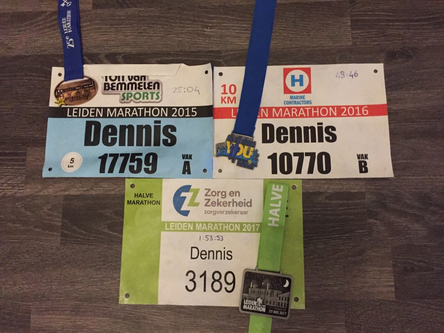 Road to Leiden Marathon 2018