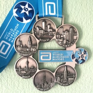 World Marathon Majors medaille