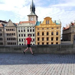 Hardlopen op vakantie in Praag