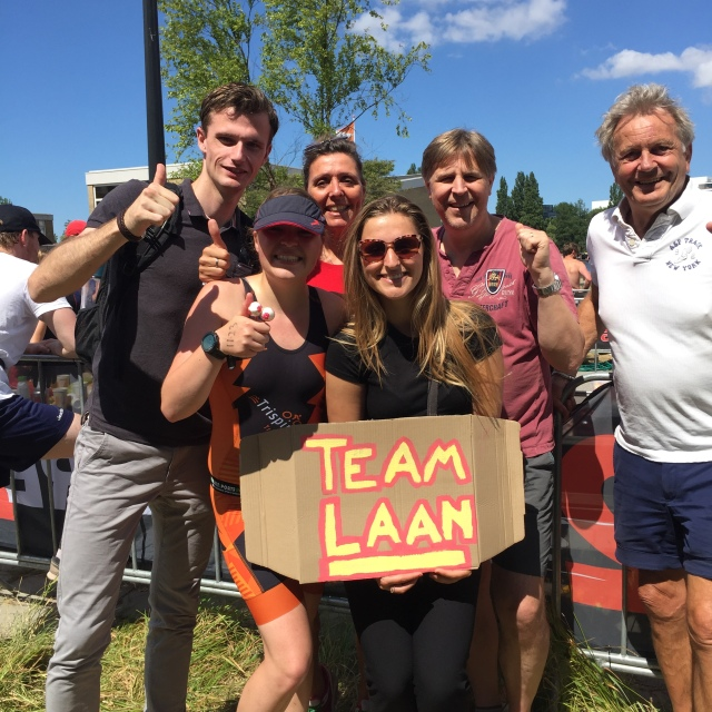 'Team Laan' bij TRI Amsterdam 2018