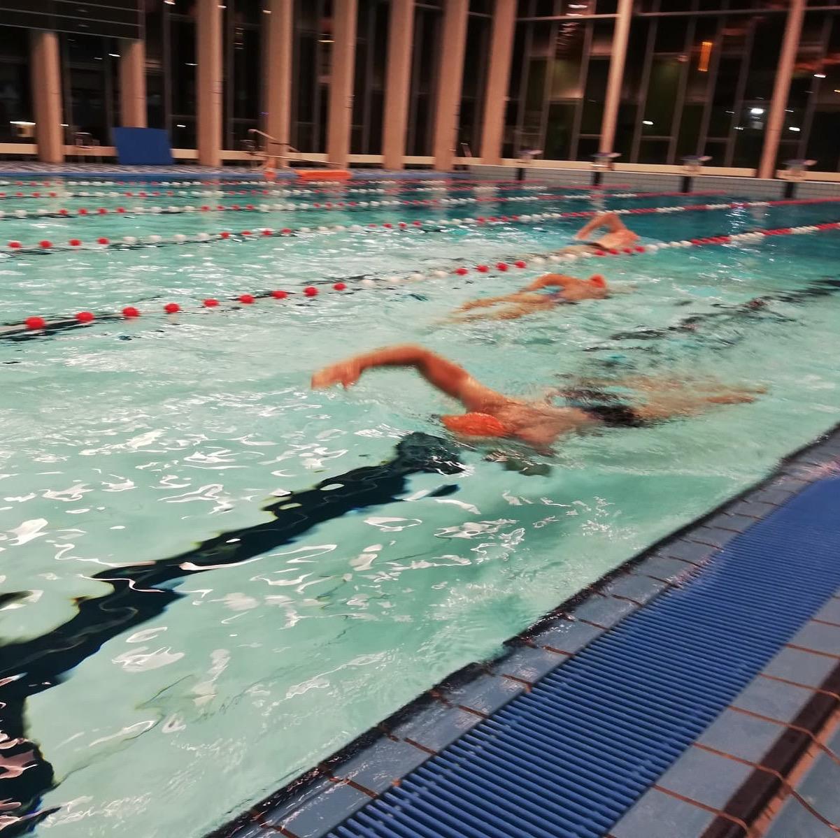 Zwemtraining van Trispiration.eu